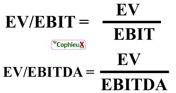 Công thức tính EV/EBIT & EV/EBITDA
