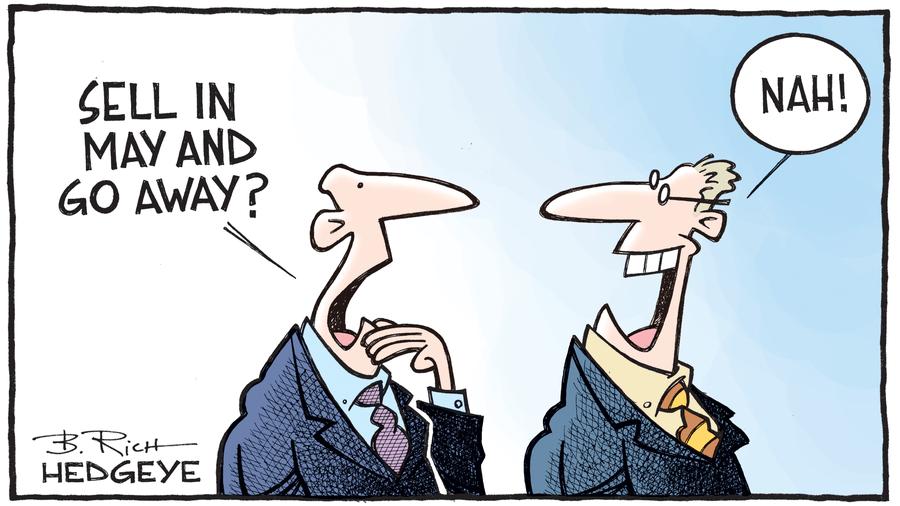 Có nên Sell in May - bán cổ phiếu vào tháng 5?